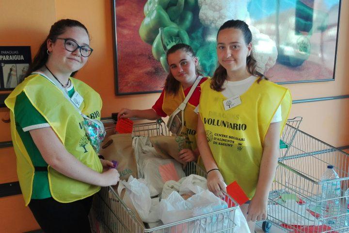 Campaña de recogida de alimentos julio 2019